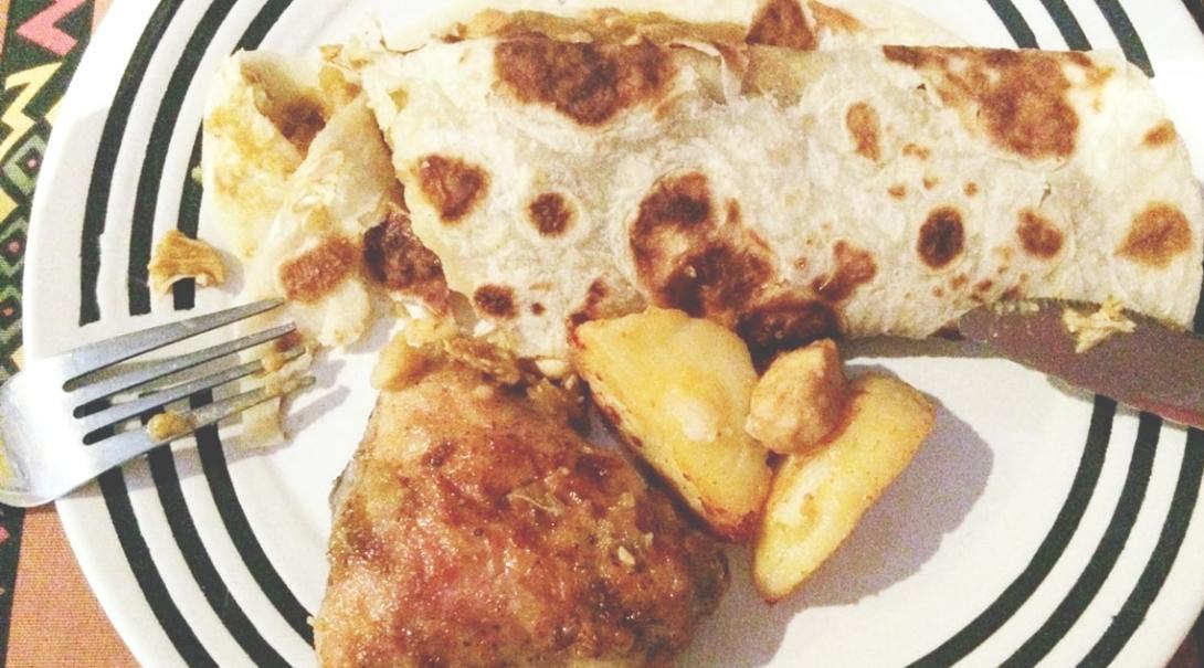 南アフリカ共和国の郷土料理ルティ
